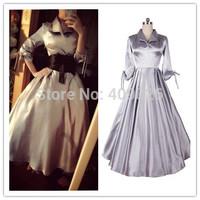 2014 Autumn Winter Advanced Design European American Celebrity Style Retro Ladies Boutique Dress Hepburn Costume Half Sleeve