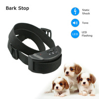 Free Shipping Cheap Auto Stop Dog Barking Control Device Anti Bark Collar With High Volumn Beep and 7 Sensitivity Levels