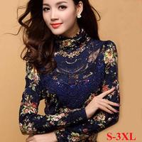 3XL fashion women clothes 2014 lace plus size women clothing vestidos femininos women shirt plaid shirt