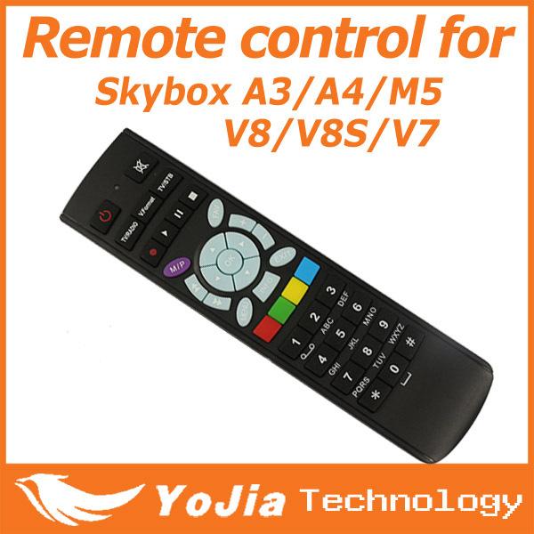 10pcs Remote Control for Original S-V8 V7 Skybox V8 V7 V6 A3 A4 A5 M5 Openbox V8S satellite receiver free shipping post(China (Mainland))