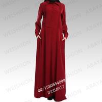 2014 new design abaya turkish abaya maxi dress muslimah dress