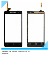 Original Black touch panel Lenovo P770 touch screen digitizer replacement for Lenovo P770 phone free shipping + tracking code