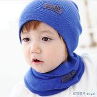 2014 NEW Baby Kids Warmer Cartoon Ear Caps Hat Wrap Scarf Sets Children Kids Girls Boys Cap free shipping baby hat children cap