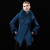 Bayeux Bayesian 2014 new Haining fur coat fur coat manufacturers selling female