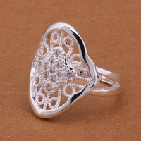 Wholesale 925 sterling silver ring, 925 silver fashion jewelry, fashion ring /aowajgda cbcaksja R589