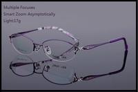 custom-made multiple focuses Reading glasses women smart zoom progressive bifocal reading glasses for farsighted hyperopia