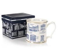 Classic England Wind Bone China Ceramic Cup mug 300ML