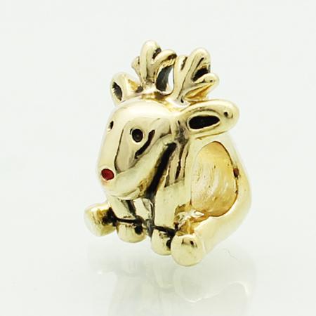 Deer Charm Bracelet Fit Pandora Charm Bracelet