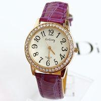 Quartz Watch Brand Women Hot Sale New Fashion Crystal Rhinestone Diamonds Luxury Top Quality Free Shipping