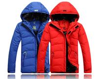 2014 Men's male thickening down jacket Men winter coat outwear 129