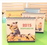 Free shipping Office & School Supplies  Calendar / Creative stationery cute cartoon of the 2015 calendar 5pcs/lot