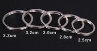 Stainless steel key ring key chain car key ring waist lanyards jewelry