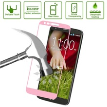 new design Link Dream Tempered Glass Film Spare Parts Protector for LG G2 Spare Parts(Pink)