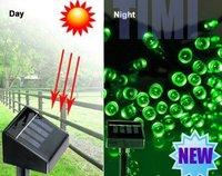 2PCS 12M 100 LED Solar Power Light , 4 colors Fairy Portable IP65 Waterproof Outdoor Christmas Decoration Light , Drop shipping
