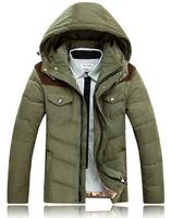New Style Brand Winter Warm Jacket Men Coat Cotton Hoodie Coat Thicken Outerwear Hoody Down Jacket Outdoors Men's Parka Jacket