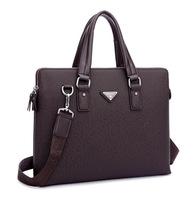 New Fashion man Briefcase shoulder bag European fashion laptop bags business  High Quality men handbag  bg0236