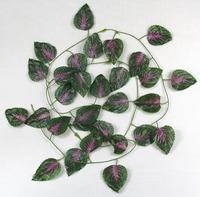 Free shipping artificial flowers cute purple party flower vine wedding decoration simulation flowers decorative