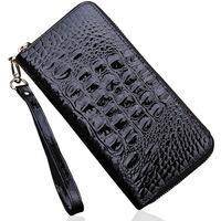 Bau lo day clutch female 2014 fashion genuine leather women's japanned leather handbag fashion design women's long wallet