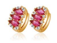 Luxury drop earrings elegant female wild hypoallergenic earrings