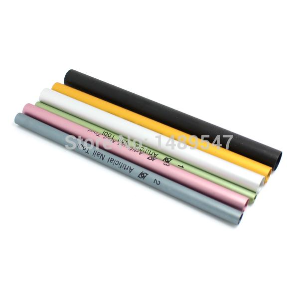 6pcs / define Frete grátis Prego C Curva de Metal Rod vara franceses dicas de gel UV acrílico Ferramenta Nail Art Manicure(China (Mainland))