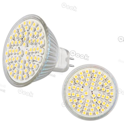 LED MR16 GU5.3 3528SMD 60 LED Warm White White Spot Down Light LED Bulb Lamp 4W 300lm 12V 3200K 6500K(China (Mainland))