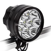 New 8500Lm 7x CREE XM L T6 LED Torch Flashlight Bicycle Light Headlamp Headlight