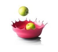 Free Shipping! 14CMx29CM Waves fruit plate dry fruit plastic basin candy fruit basket living room decration