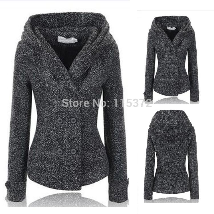Женская одежда из шерсти Women coat Casacos Femininos  женская одежда из шерсти women coat 2015