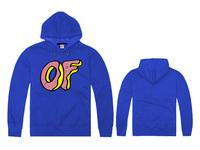 Free Shipping New Arrival  Cheap Brand Odd Future Hot Selling Winter&Autumn Men's Fashion Blue Color Odd Future Hoody-05