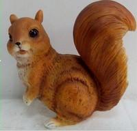 Modern minimalist animal squirrel resin crafts decoration fashion Home Furnishing handicrafts wholesale