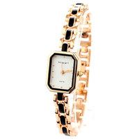reloj metal dama Wristwatches Dropship Famous Brand Rhinestones Bracelet Watch Rose Golden Watches For Women Free Shipping