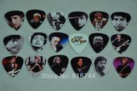 New 18pcs/lot Medium Guitar Picks Collection Bob Dylan & Eric Clapton 2-side Color Printed