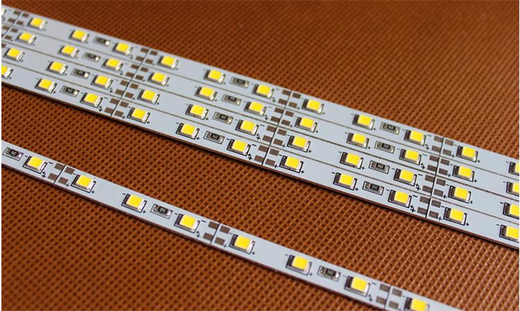 Free shipping 10pcs/lot Samsung 2835 SMD led bar light ,ultra slim 5mm led rigid bar ,18.7W/M led hard strip LHS-28-002(China (Mainland))