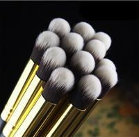 (Min Order 10$) Pro Quality Long Handle Eye Nose Shading Studio Contour Blending Brush Goat Hair Soft Makeup Eyeshadow Brush