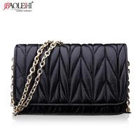 Bau lo 2014 fashion chain female bags women's cross-body bag genuine leather women's handbag one shoulder bag