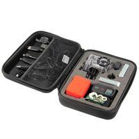 Shockproof Protective Case Bag for Gopro Hero 2 3 & Gopro Accessories Black-Medium(21*16*6.8CM)