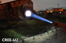 Super Strong Lumens! CREE-U2 the Best Mini LED flashlight Lanterna Torch Zoomable Lantern Penlight wholesale(China (Mainland))