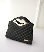 New Hot Lips PU Quilted shoulder bag banquet bag woman handbag