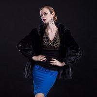 Haining fur 2014 new fashion mink fur fur coat fur new wholesale and MS.