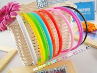 Free shipping+50pcs/lot+Fashion Candy Color Good elasticity Hair accessories,Hair band,head wear,0.8cm