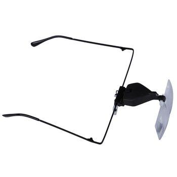 Мода глаз защитные очки лупа лупа громкой из светодиодов лупа с 3 линзы бесплатная ...