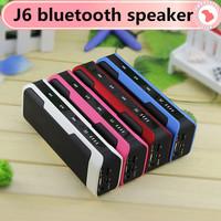 New J6 bluetooth speaker Bluetooth audio wireless big sound box support TF card portable FM 4000mAh surround sound home theatre