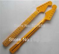 Sell free shipping Nitro satin finish Vintage Canadian maple strat guitar neck 21 fret nitro satin st guitar neck