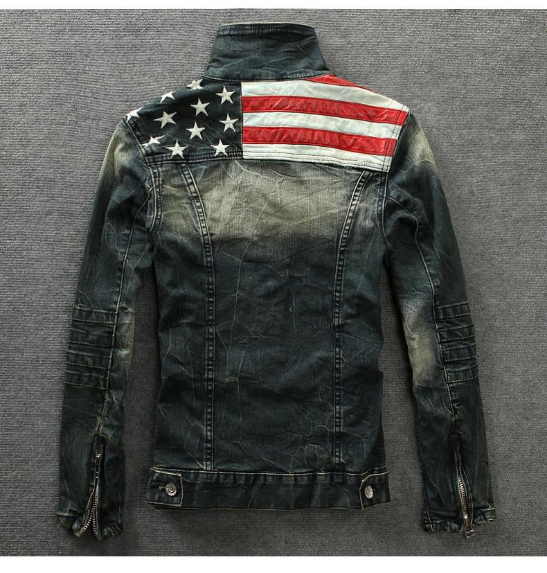 человек весной джинсовая куртка пальто мужчины