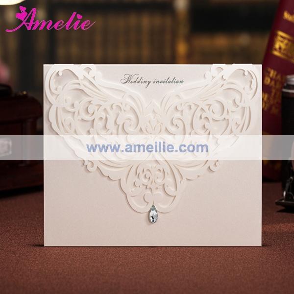 Wedding Invitation Card Stock Paper
