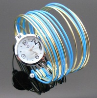 Free shipping wholesale dropship 2013 new hot sale Russian mix color fashion watches women bracelet