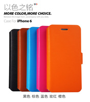Doormoon For iphone 6 4.7 Flip Leather Case Real Cowhide Leather Cover And Retailed Package By Free Shipping