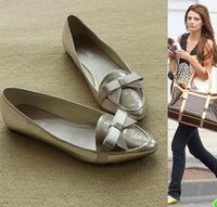 Shoes Women Flats Ballet Flat Shoes Black 100% Soft Leather Shoes Sapatilhas sapatos femininos 2014 Brand Good Quality ,B2724