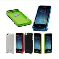 Wholesale 20pcs/lot High Qulaity 4200mah Power Case Rechargeable External Backup Battery Case Pack Power Bank for iPhone 5 5S 5G