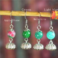 Free shipping,Original Ethnic Tibetan silver earrings